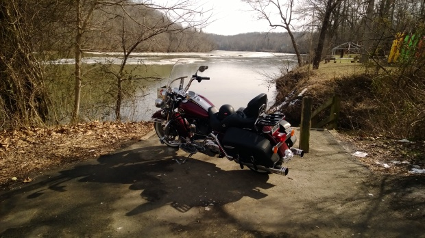 Harley by the River